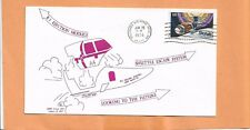 B-1 BOMBER EJECTION MODULE WSMR COVER # 34 OF 600 JUN 26,1974   SPACE COVER