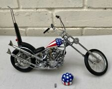 Franklin Mint Easy Rider Harley Davidson Copper 1:10 Scale
