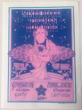 1971 Springer's Ballroom Portland, Mixed Blood , Fireman, Blue Rose Handbill