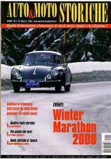 RIVISTA AUTO & MOTO STORICHE ANNO III  N 18 WINTER MARATHON 2008