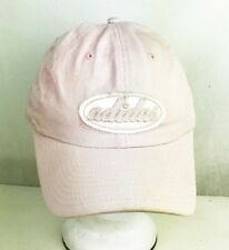 ADIDAS BASEBALL HAT CAP PINK PATCH EMBROIDERED ONE-SIZE STRAPBACK EUC