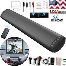 Bluetooth 5.0 Wireless TV Soundbar Speaker Stereo 3D Sound Bar Home Subwoofer US