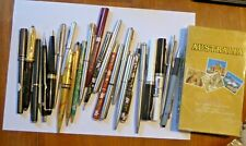 Job Lot of Fountain Pens / Ballpoint Pens and Pencils Inc Parker & Addison Rose