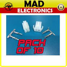 10 x 2 Pin Power Connector Molex Plug & Socket ESC RC Battery Male and Female