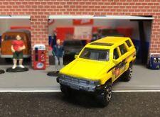 Matchbox 1985 Toyota 4Runner Yellow Parks Dept New Loose FFP 1:64 Die-cast