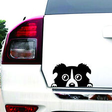 1*Cute Border Collie Dog Pet Sticker Vinyl Car Decal Auto Window Stickers Black