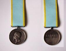 médaille crimée italie royaume de sardaigne criméa vottorio emanuelle 2 1855