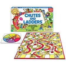 Chutes And Ladders Classic Board Game shoots slides Classic 1970s Edition