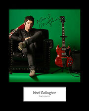 NOEL GALLAGHER #1 Signed Photo Print 10x8 Mounted Photo Print - FREE DELIVERY