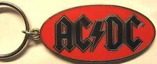 """AC/DC porte clé # 4/métal """"logo rouge"""" - KEYCHAIN"""