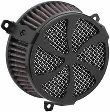 Cobra Air Cleaner Kits - Swept - Black HARLEY-DAVIDSON XL1200C Sportster etc