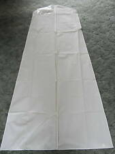 GARMENT  WEDDING  DRESS  BAG  WITH  ZIP   WHITE    NEW