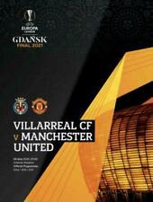 More details for ;2021 europa league final programme - manchester united v villarreal + poster