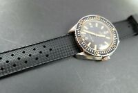 RUBBER DIVE WATCH STRAP/BAND FOR OMEGA/ROLEX SWISS WATCHES TROPICAL FREE POST