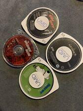 Lot Of 4 Psp Umd Movies Sin City National Treasure 2 Family Guy