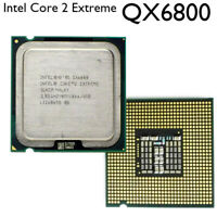 Intel Core 2 Extreme QX6800 CPU SLACP G0 130W LGA775 FSB1066 65nm 2.93 GHz 8MB