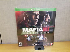 Xbox One Mafia III Collector's Edition, Brand New, Sealed!