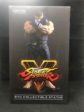 "Street Fighter V 10"" Ryu Blue Variant Color CAPCOM Collectible Statue BRAND NEW"