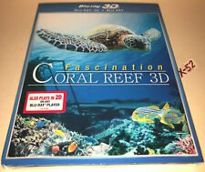 FASCINATION CORAL REEF 3D blu-ray (both 3d and 2d versions) nature sea underwate