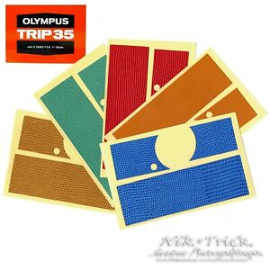 Olympus Trip 35 Custom & Replacement Leather ~ Precision Cut Excellence!