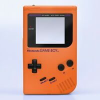Game Boy Original Shell Case Pearl Orange Replacement GB DMG-01 RetroSix ABS IPS