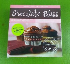 Chocolate Bliss by Various Artists (CD, Jun-2009, Sunset Records)W/ Recipe Cards