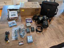 Nikon D70 Digital SLR Camera Kit w/ extras!