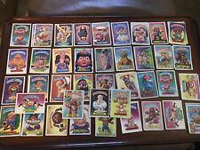garbage pail kids First Edition cards
