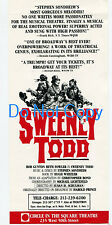 Sweeney Todd Stephen Sondheim Bob Gunton Beth Fowler Show Ad Herald