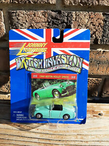 Vintage New Johnny Lightning British Invasion 1960 Austin-Healey Sprite Toy Car