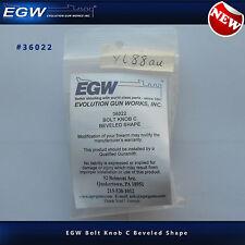 EGW Tactical Oversized Bolt Knob - Beveled Shape - #36022 - NEW - Aluminum Matte