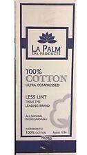 12lbs x 3 Box La Palm Cotton - 100% Cotton Ultra Compressed Less Lint