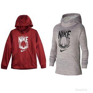 NWT$40 Nike Baseball Dri-Fit Therma Training Fleece Pullover Hoodie BV3788 S L