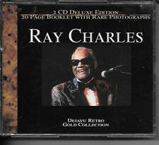 COFFRET 2 CD COMPIL 40 TITRES--RAY CHARLES--GOLD COLLECTION