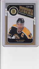 11/12 OPC Boston Bruins Ray Bourque Marquee Legend card #545
