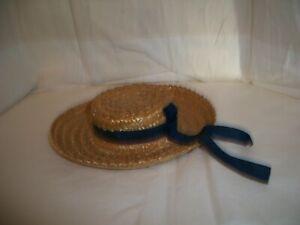 MADAME ALEXANDER STRAW HAT