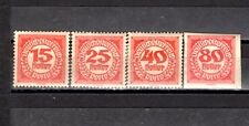 Sale of stamps from Austria 1919 - MH Imperf - perf