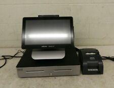 Oracle Micros Workstation 6 Pos Terminal w/Stand Display Tm-U220B Printer Drawer
