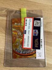 Pokemon Topps Vending Sticker #06 Charizard Prism