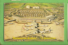 #A.  POSTCARD -  MELBOURNE  TULLAMARINE AIRPORT