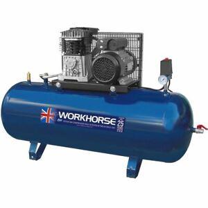 Workhorse Air Compressor 3HP 150L 230V