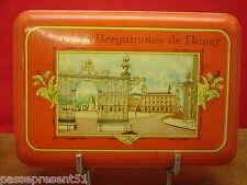 Jolie ancienne boîte en tôle, véritables bergamotes de Nancy