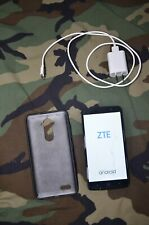 "BOOST MOBILE ZTE Max XL N9560 6"" 8GB Android 4G LTE Smart Cell Phone"