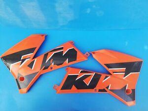 CARENE KTM SX 125 250 2003 FIANCHETTI TABELLA PORTA NUMERO