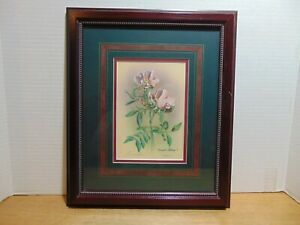 Meadow Rose by Russell Cobane Lithograph 41/350 Signed COA Framed And Matted