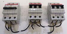 ABB, CIRCUIT BREAKER, S273, K10A, VDE 0660, 277/480VAC, LOT OF 3
