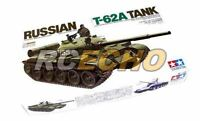 Tamiya Military Model 1/35 Russian T-62A Tank Scale Hobby 35108