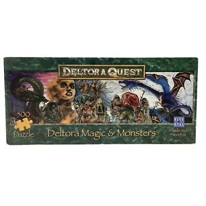 Deltora Quest Jigsaw Puzzle Deltora Magic & Monsters 500 Pieces 2003 - Complete
