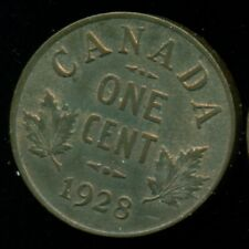 1928 Canada King George V, Small Cent, MS Trace Red