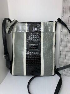 Guess Vintage Crossbody Black Gray Color